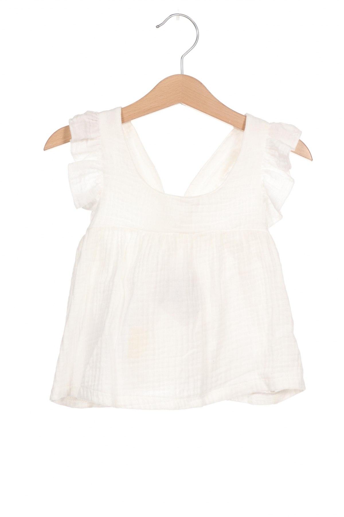 Детска туника Little Celebs, Размер 18-24m/ 86-98 см, Цвят Бял, Памук, Цена 36,75лв.