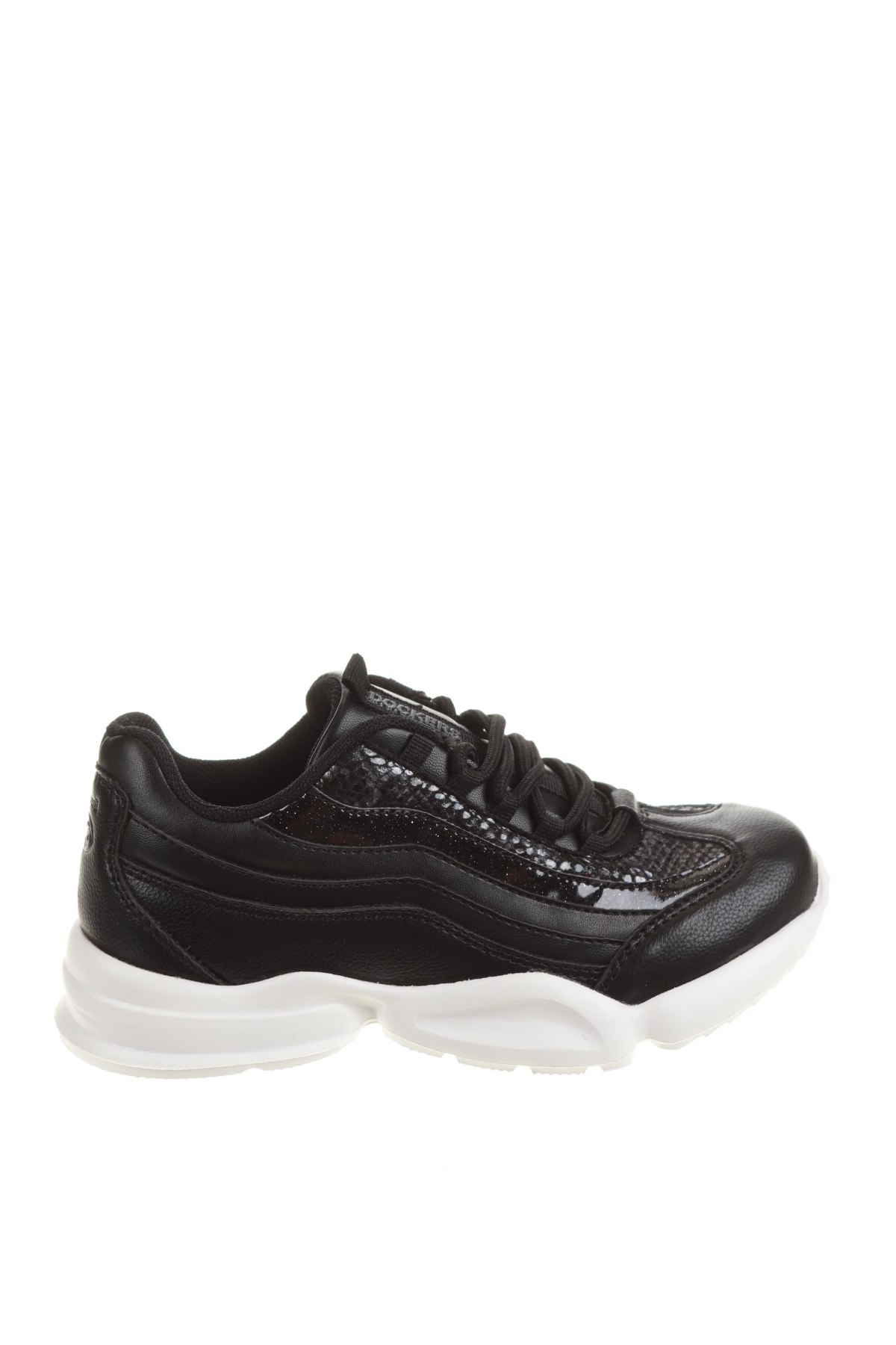 Детски обувки Dockers by Gerli, Размер 31, Цвят Черен, Текстил, Цена 22,42лв.