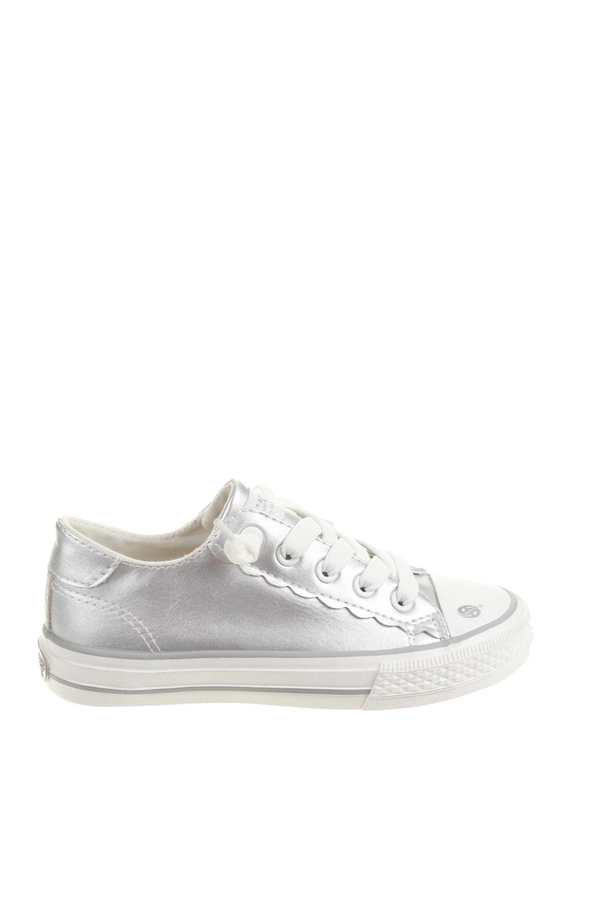 Детски обувки Dockers by Gerli, Размер 31, Цвят Сребрист, Текстил, Цена 20,58лв.