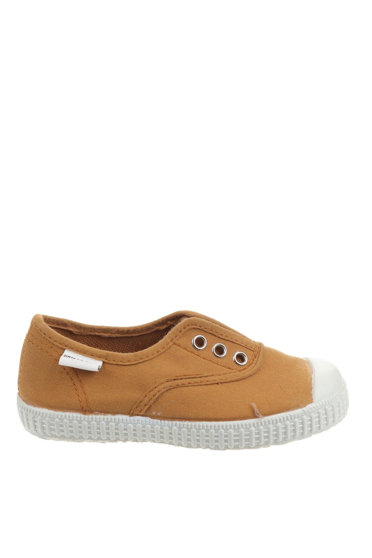 Детски обувки Little Celebs, Размер 25, Цвят Бежов, Текстил, Цена 16,66лв.