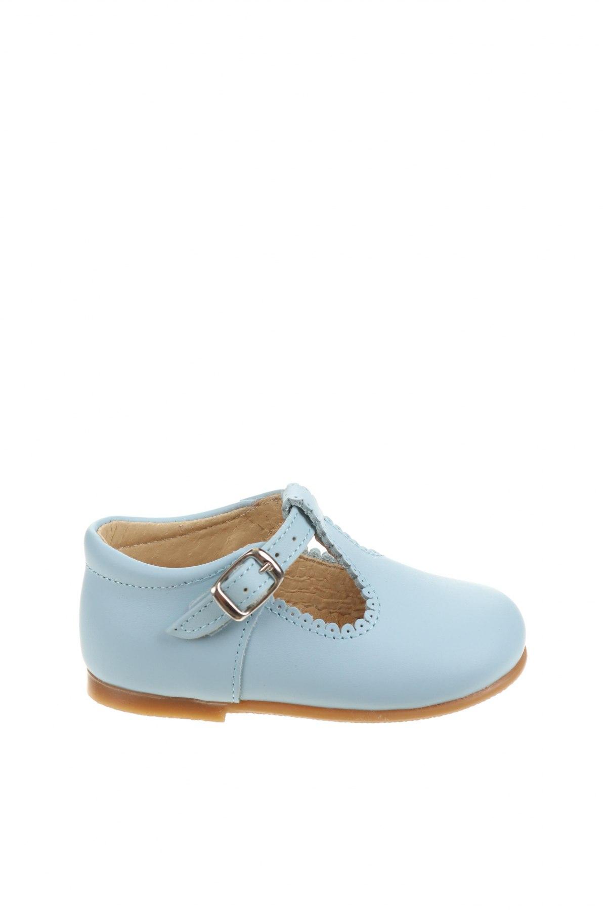 Детски обувки Lola Palacios, Размер 20, Цвят Син, Естествена кожа, Цена 29,37лв.