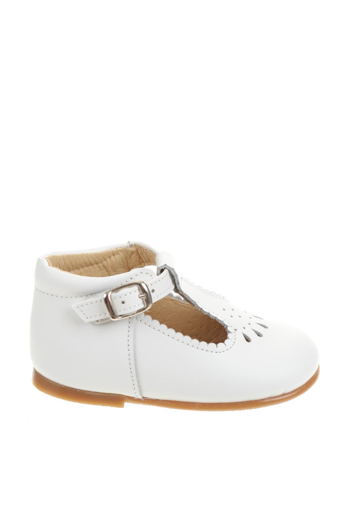 Детски обувки Lola Palacios, Размер 20, Цвят Бял, Естествена кожа, Цена 66,75лв.