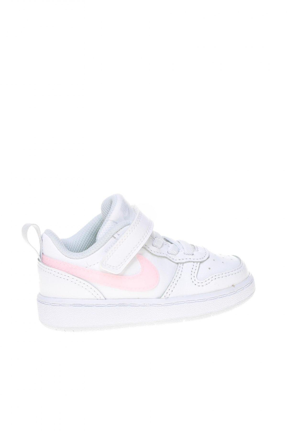 Детски обувки Nike, Размер 22, Цвят Бял, Естествена кожа, Цена 89,25лв.