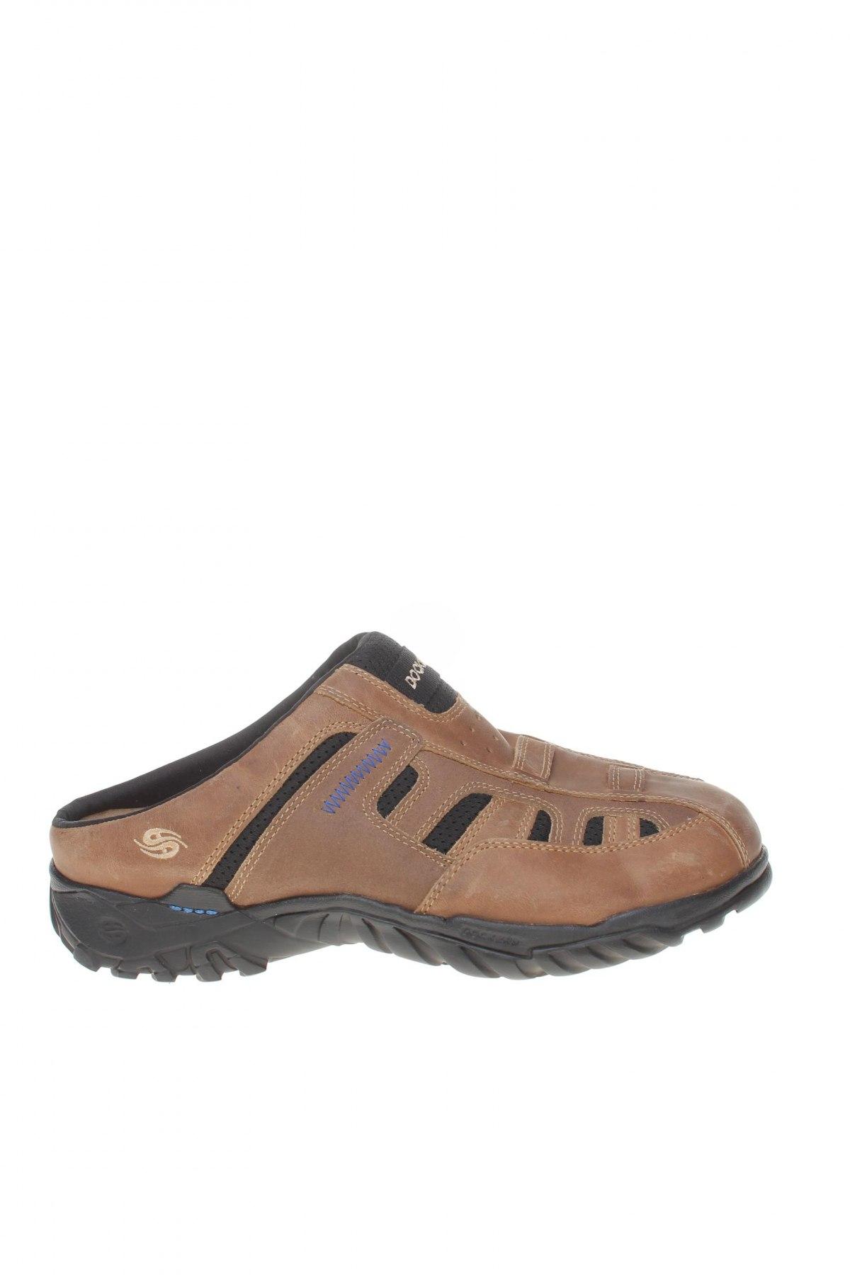 Ανδρικά παπούτσια Dockers by Gerli, Μέγεθος 41, Χρώμα Καφέ, Γνήσιο δέρμα, κλωστοϋφαντουργικά προϊόντα, Τιμή 42,14€
