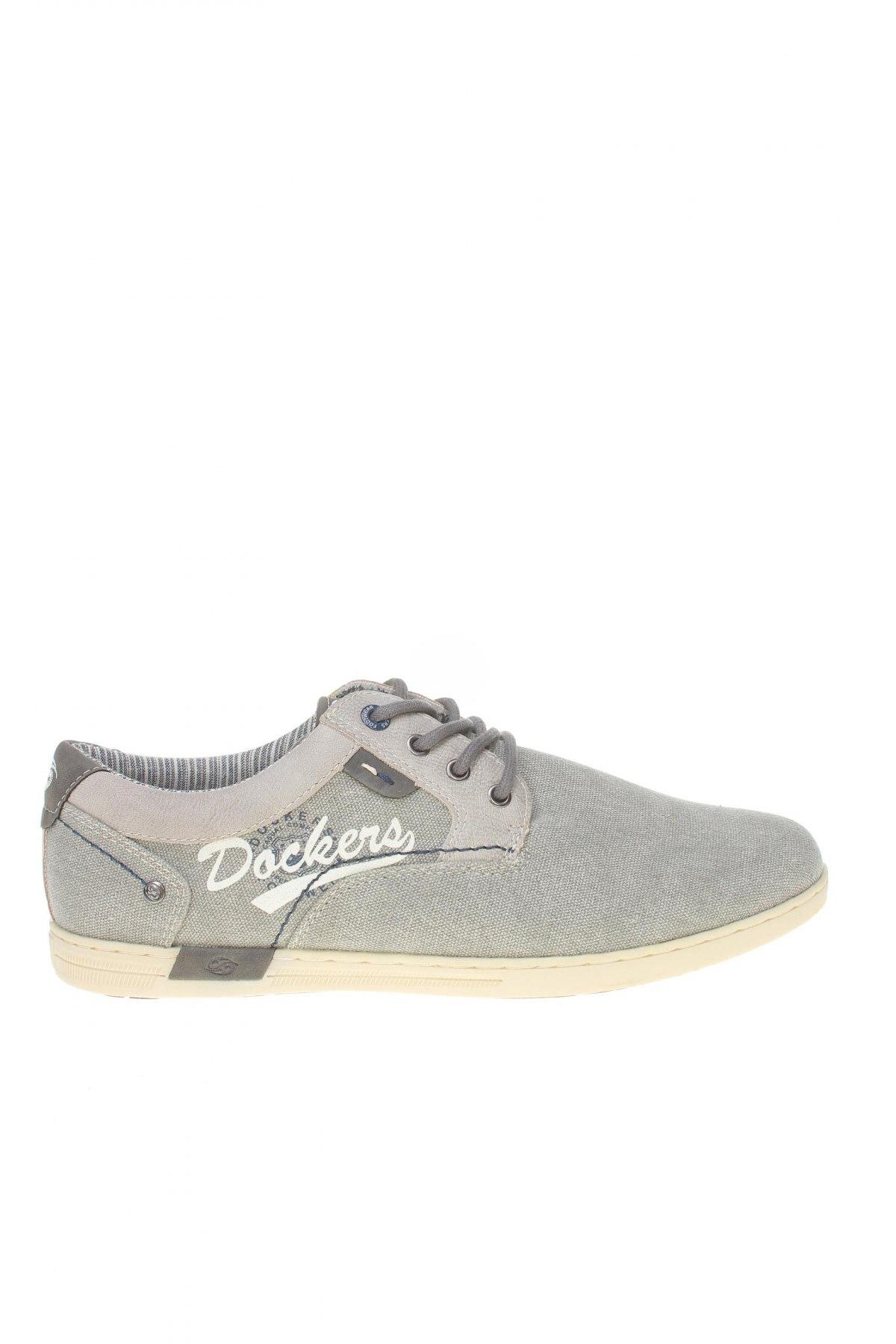 Мъжки обувки Dockers by Gerli, Размер 42, Цвят Сив, Текстил, еко кожа, Цена 40,02лв.
