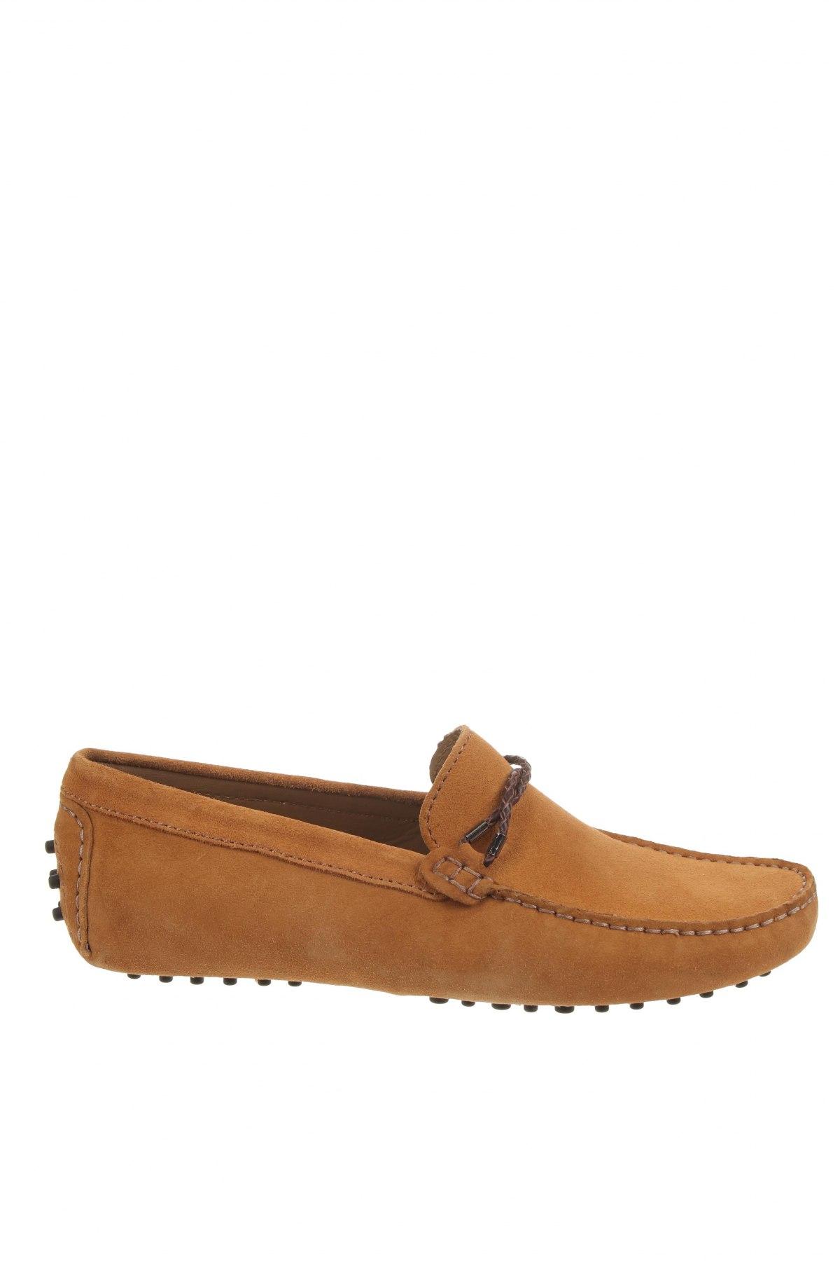 Ανδρικά παπούτσια John Scott, Μέγεθος 42, Χρώμα Κίτρινο, Φυσικό σουέτ, Τιμή 46,01€