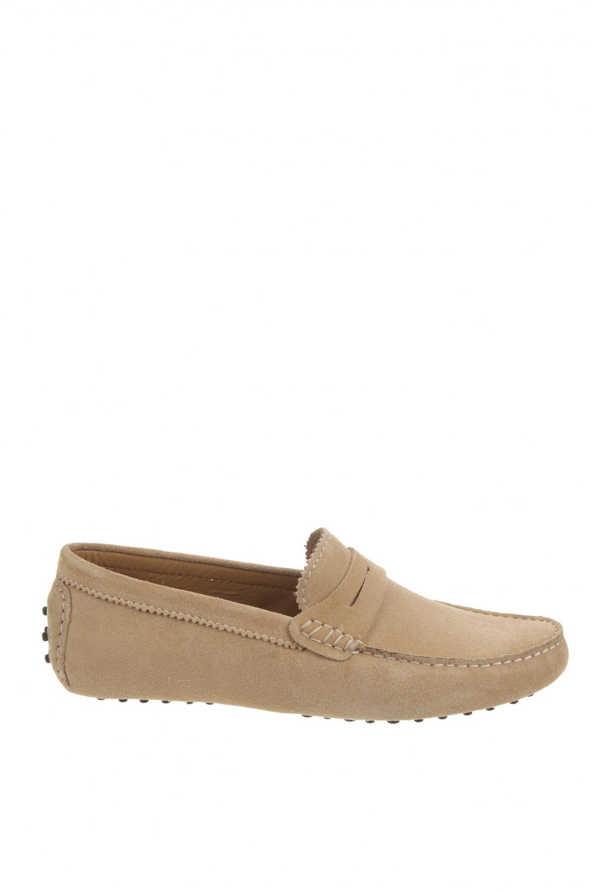 Ανδρικά παπούτσια John Scott, Μέγεθος 42, Χρώμα  Μπέζ, Φυσικό σουέτ, Τιμή 25,15€
