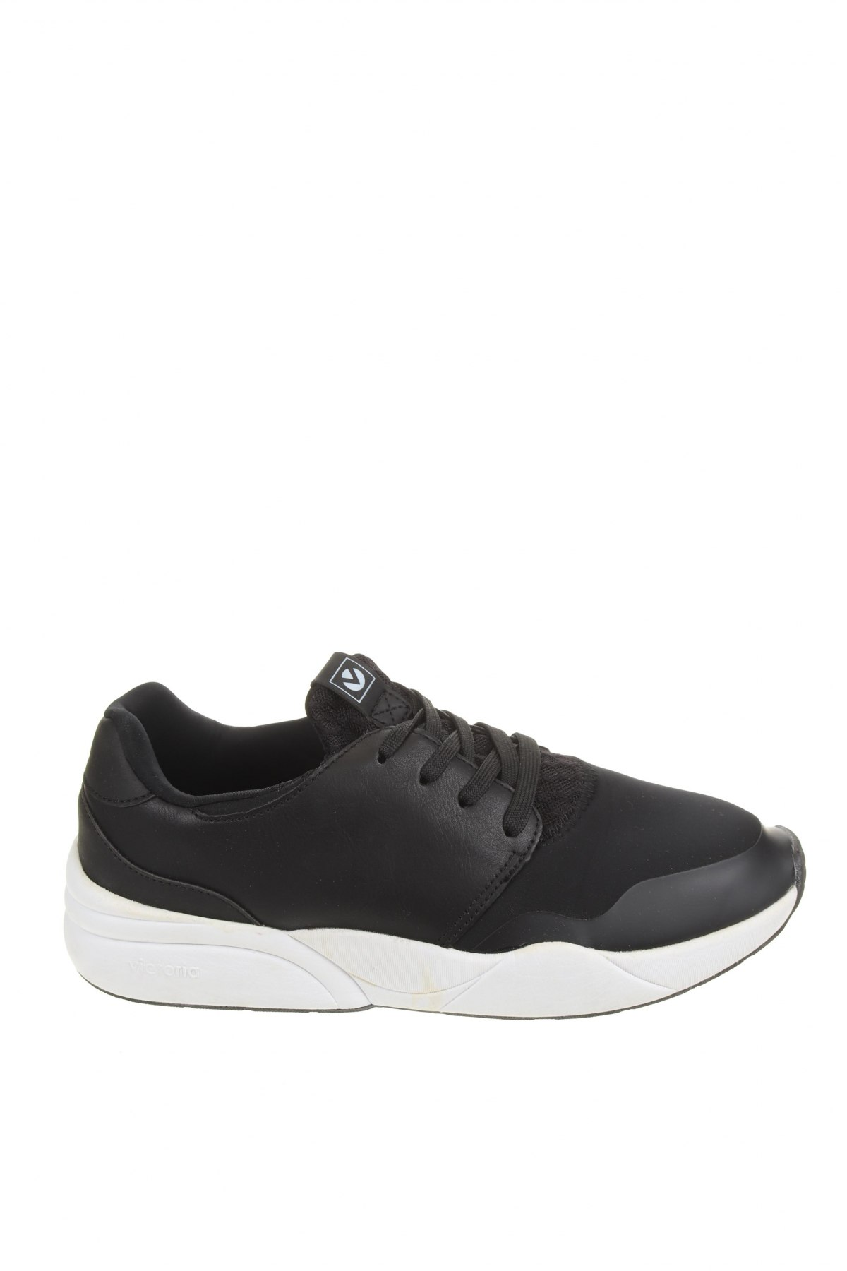 Обувки Victoria, Размер 39, Цвят Черен, Еко кожа, текстил, Цена 32,64лв.