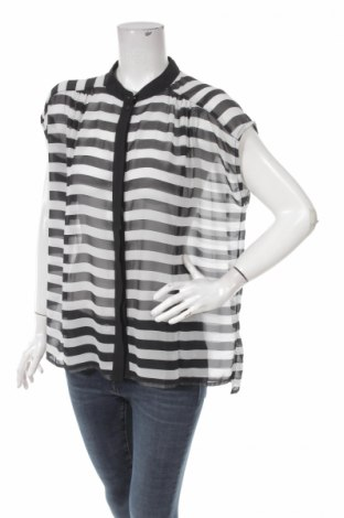515429ecd676 Γυναικείο πουκάμισο Black   White - σε συμφέρουσα τιμή στο Remix ...