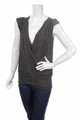 Дамска блуза Ahlens, Размер M, Цвят Черен, 95% вискоза, 5% еластан, Цена 3,04лв.
