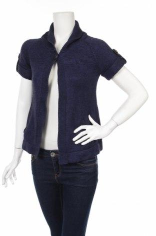 Γυναικεία ζακέτα Etam, Μέγεθος S, Χρώμα Μπλέ, 50% μοντάλ, 30% βαμβάκι, 20% μαλλί, Τιμή 13,19€