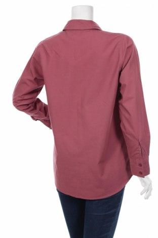 Γυναικείο πουκάμισο, Μέγεθος M, Χρώμα Ρόζ , 65% πολυεστέρας, 35% βαμβάκι, Τιμή 18,56€