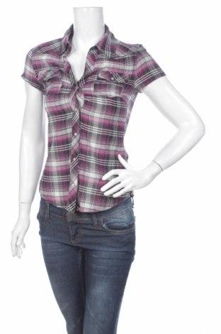 Γυναικείο πουκάμισο Clockhouse, Μέγεθος S, Χρώμα Βιολετί, 100% βαμβάκι, Τιμή 11,13€
