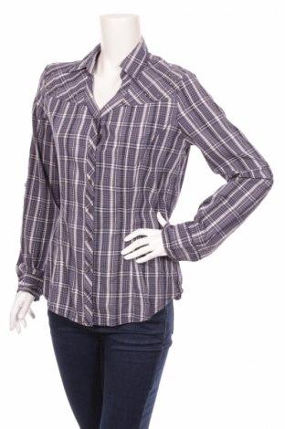 Γυναικείο πουκάμισο Colours Of The World, Μέγεθος L, Χρώμα Μπλέ, Βαμβάκι, Τιμή 17,53€