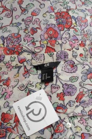 Γυναικείο πουκάμισο H&M, Μέγεθος L, Χρώμα Πολύχρωμο, 100% πολυεστέρας, Τιμή 11,13€