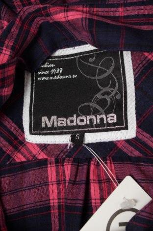 Γυναικείο πουκάμισο Madonna, Μέγεθος S, Χρώμα Πολύχρωμο, 55% πολυεστέρας, 45% βαμβάκι, Τιμή 14,95€