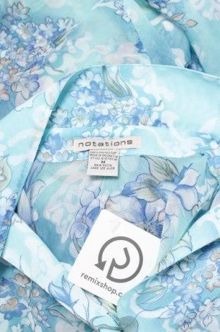 Γυναικείο πουκάμισο Notations, Μέγεθος M, Χρώμα Πολύχρωμο, Πολυεστέρας, Τιμή 12,99€