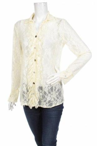 Γυναικείο πουκάμισο Schiffhauer, Μέγεθος M, Χρώμα  Μπέζ, 95% πολυαμίδη, 5% ελαστάνη, Τιμή 16,49€