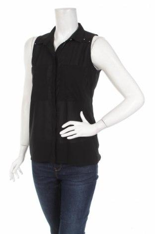 Γυναικείο πουκάμισο Sinsay, Μέγεθος S, Χρώμα Μαύρο, Πολυεστέρας, Τιμή 11,34€