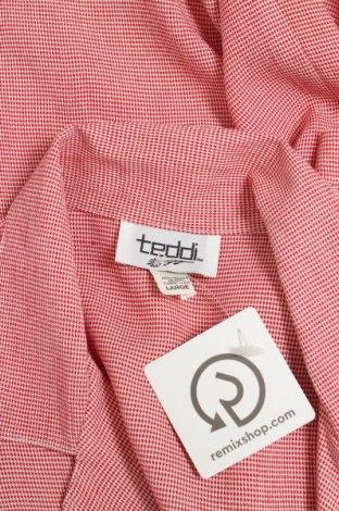 Γυναικείο πουκάμισο Teddi, Μέγεθος L, Χρώμα Λευκό, 53% ασετάτ, 47% βισκόζη, Τιμή 10,82€