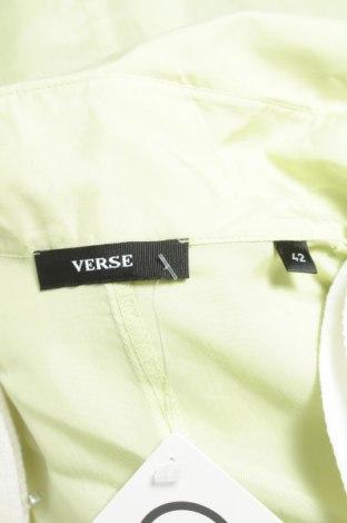 Γυναικείο πουκάμισο Verse, Μέγεθος L, Χρώμα Πράσινο, 100% χαλκαμμωνία, Τιμή 15,46€