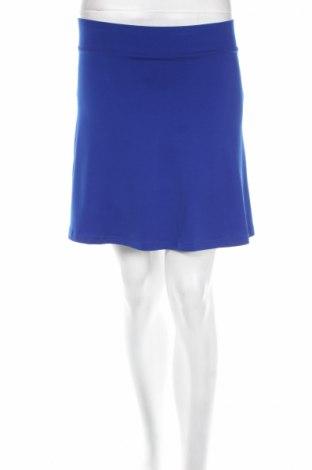 Пола H&M Divided, Размер XS, Цвят Син, 95% полиестер, 5% еластан, Цена 3,36лв.