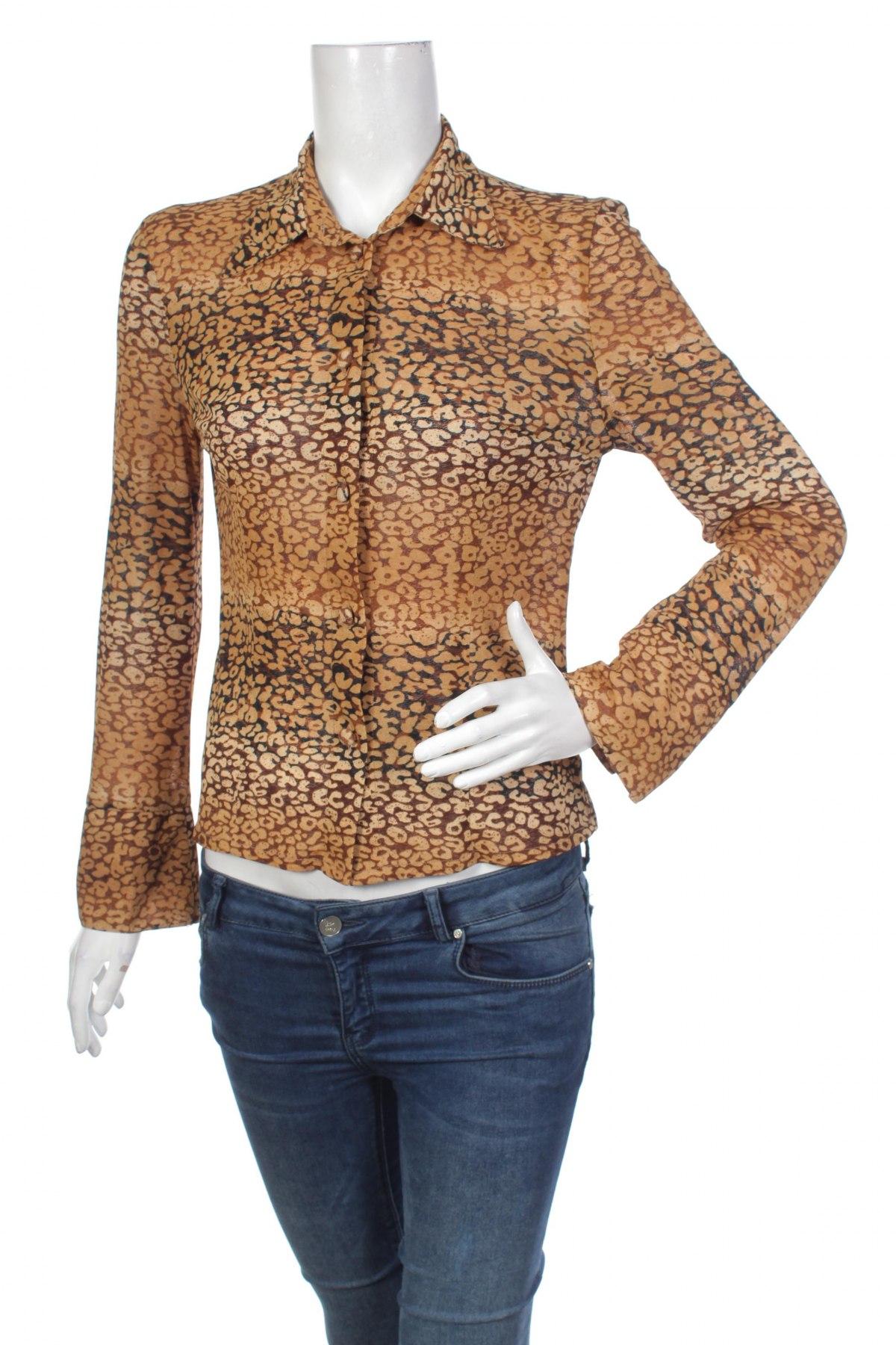Γυναικείο πουκάμισο, Μέγεθος L, Χρώμα Καφέ, Τιμή 19,59€