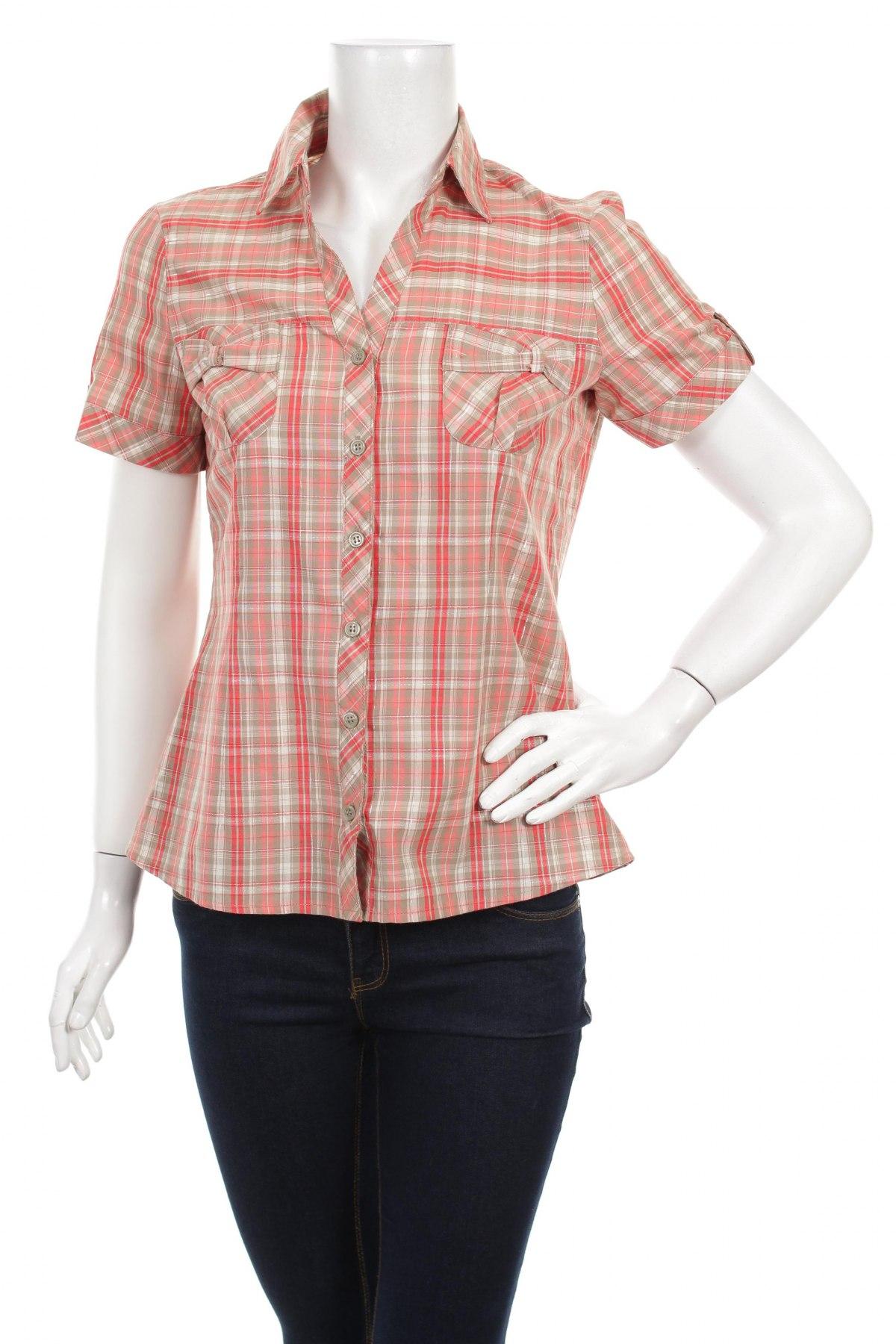 Γυναικείο πουκάμισο, Μέγεθος M, Χρώμα Πολύχρωμο, 60% βαμβάκι, 39% πολυεστέρας, 1% μεταλλικά νήματα, Τιμή 12,97€