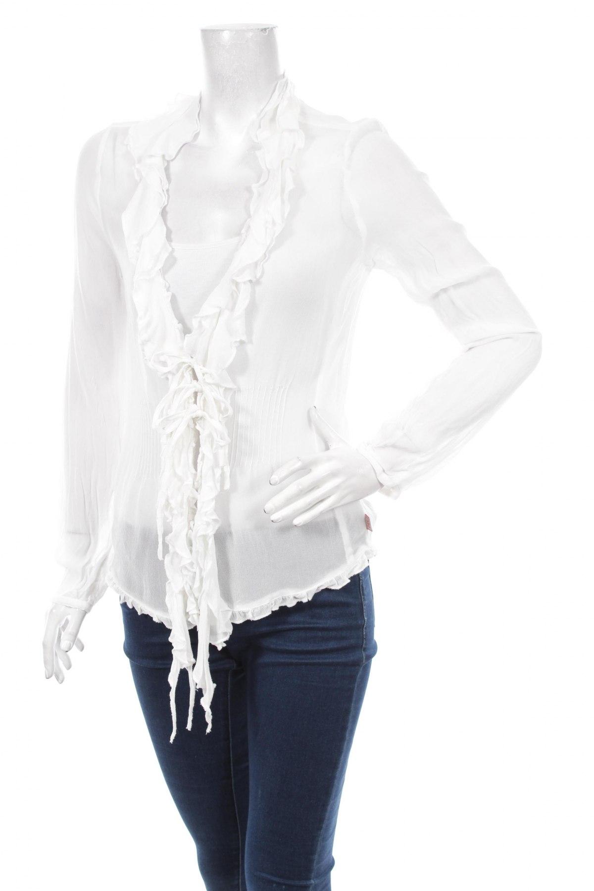 Γυναικείο πουκάμισο Didi, Μέγεθος M, Χρώμα Λευκό, 100% βισκόζη, Τιμή 24,23€