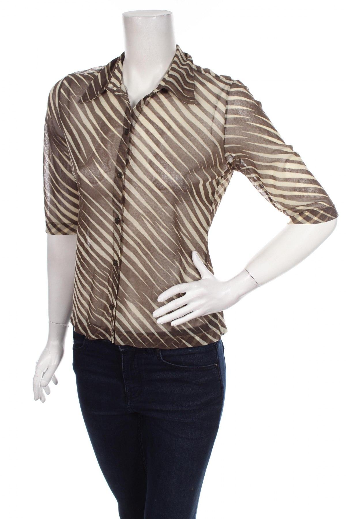 Γυναικείο πουκάμισο Mexx, Μέγεθος L, Χρώμα Πράσινο, Πολυαμίδη, Τιμή 17,32€