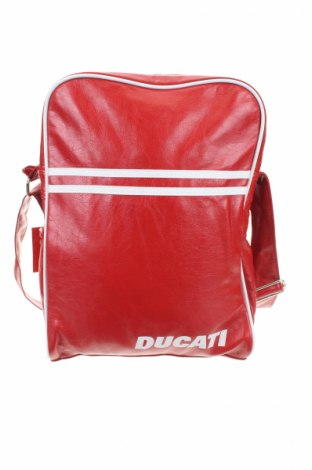 Τσάντα Ducati, Χρώμα Κόκκινο, Δερματίνη, Τιμή 18,31€