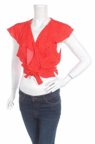 Дамска блуза Glassons, Размер L, Цвят Червен, 100% вискоза, Цена 7,75лв.