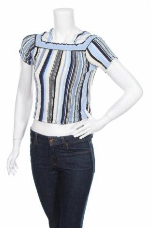 Дамска блуза Monteau, Размер M, Цвят Многоцветен, Вискоза, Цена 4,50лв.