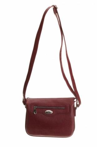 Γυναικεία τσάντα, Χρώμα Κόκκινο, Δερματίνη, Τιμή 7,48€