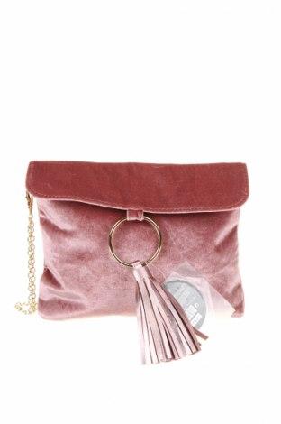 Γυναικεία τσάντα, Χρώμα Ρόζ , Κλωστοϋφαντουργικά προϊόντα, δερματίνη, Τιμή 10,58€