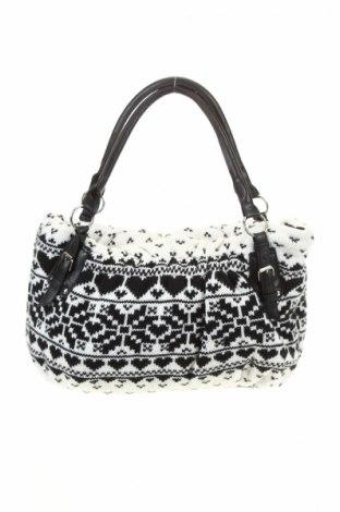 Γυναικεία τσάντα, Χρώμα Λευκό, Κλωστοϋφαντουργικά προϊόντα, δερματίνη, Τιμή 8,04€