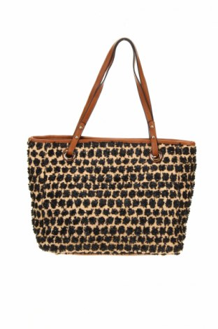Γυναικεία τσάντα, Χρώμα Καφέ, Δερματίνη, κλωστοϋφαντουργικά προϊόντα, Τιμή 9,18€