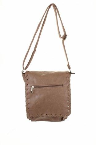 Γυναικεία τσάντα, Χρώμα Καφέ, Δερματίνη, Τιμή 6,06€