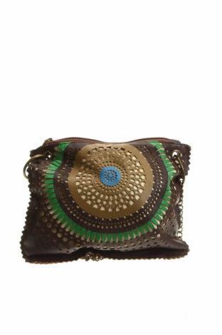Γυναικεία τσάντα Accessoires, Χρώμα Καφέ, Δερματίνη, Τιμή 9,38€