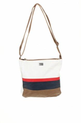 Γυναικεία τσάντα Cabrelli, Χρώμα Πολύχρωμο, Δερματίνη, Τιμή 12,37€