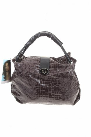Γυναικεία τσάντα Eva Longoria, Χρώμα Γκρί, Δερματίνη, Τιμή 9,65€