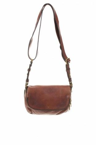 Γυναικεία τσάντα Fossil, Χρώμα Καφέ, Γνήσιο δέρμα, Τιμή 23,75€