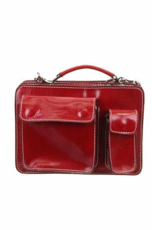 Γυναικεία τσάντα, Χρώμα Κόκκινο, Γνήσιο δέρμα, Τιμή 33,65€