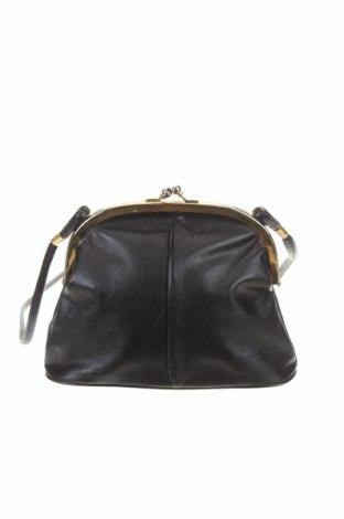 Γυναικεία τσάντα Mandi, Χρώμα Μαύρο, Γνήσιο δέρμα, Τιμή 20,78€