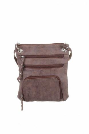 Γυναικεία τσάντα Marikai, Χρώμα Καφέ, Δερματίνη, Τιμή 5,63€