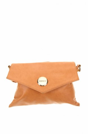 Γυναικεία τσάντα Mimco, Χρώμα Καφέ, Δερματίνη, Τιμή 7,42€