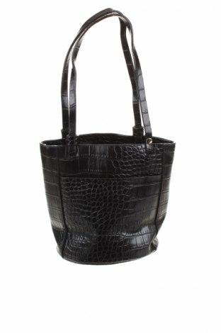 Γυναικεία τσάντα Perllini, Χρώμα Μαύρο, Δερματίνη, Τιμή 4,08€