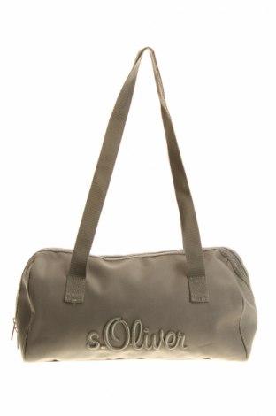 Γυναικεία τσάντα S.Oliver, Χρώμα Πράσινο, Κλωστοϋφαντουργικά προϊόντα, Τιμή 12,86€