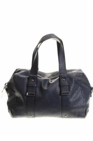 Γυναικεία τσάντα Woman By Tchibo, Χρώμα Μπλέ, Δερματίνη, Τιμή 8,04€