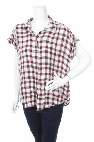 Дамска риза Abercrombie & Fitch, Размер XL, Цвят Многоцветен, Вискоза, Цена 7,75лв.